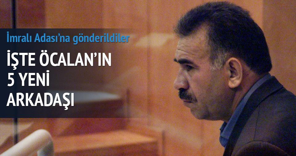İşte Öcalan'ın 5 kişilik sekreteryası
