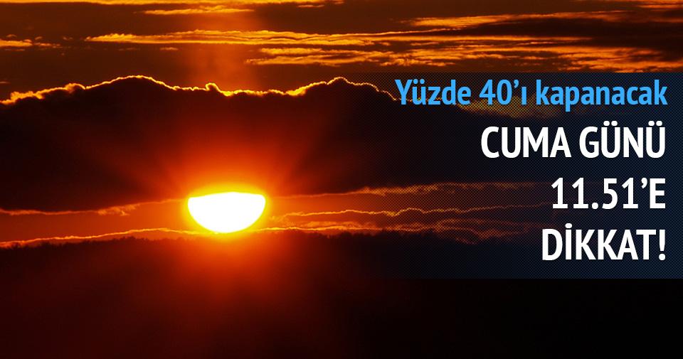 20 Mart'ta güneş tutulması yaşanacak