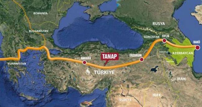 TANAP'a üst düzey koruma