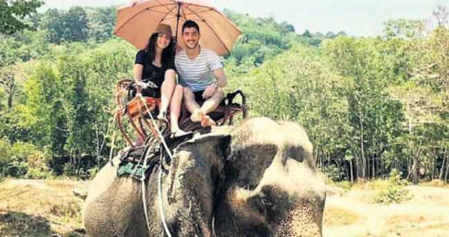 Aşıklar soluğu Phuket'te aldı