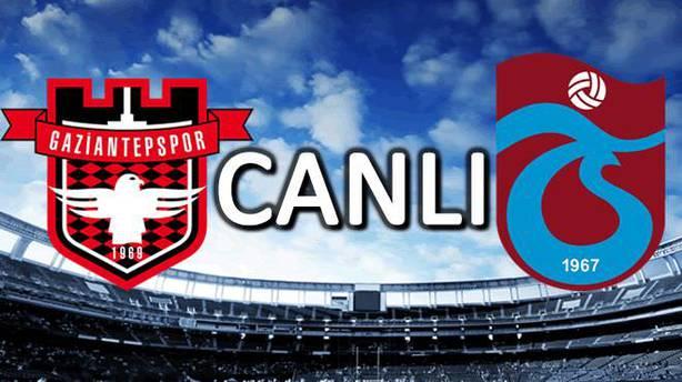 Gaziantepspor—Trabzonspor özet ve golleri (G.Antep Trabzon maçı özeti)