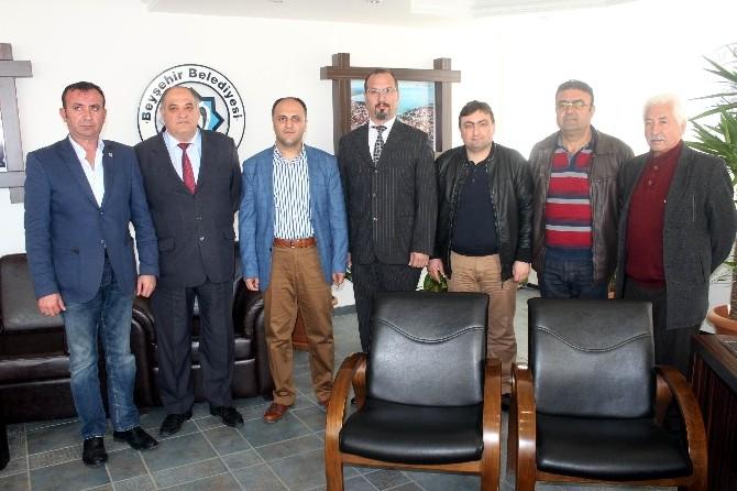 Antbeyder'den Başkan Özaltun'a Ziyaret