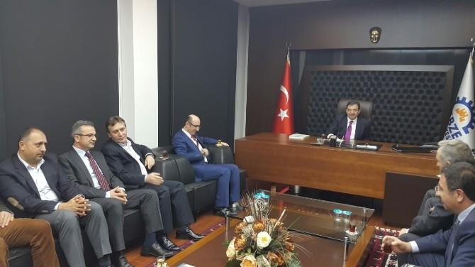 Bakan İdris Güllü'ce Başkan Köşker'in Konuğu Oldu