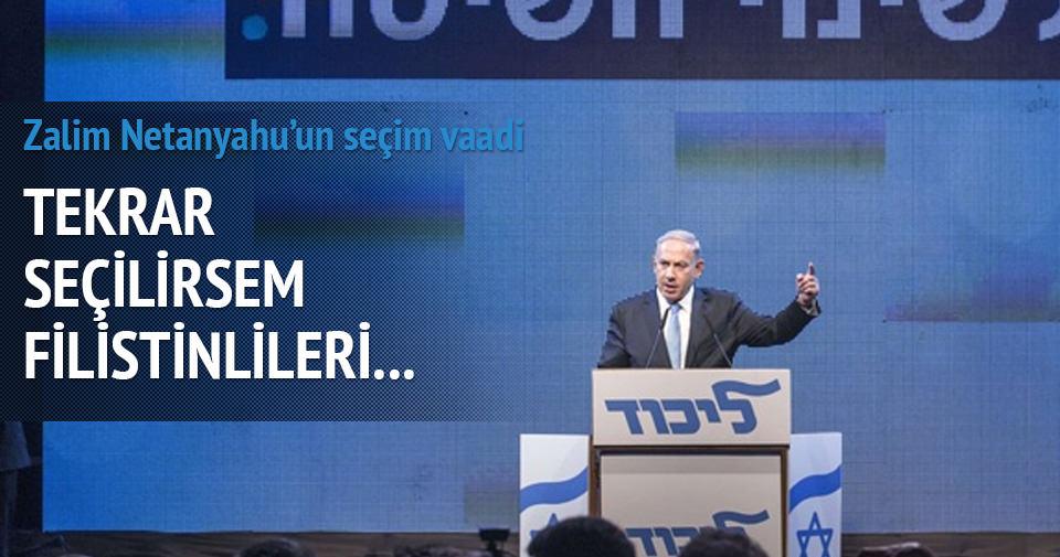 Netanyahu'dan binlerce yerleşim vaadi