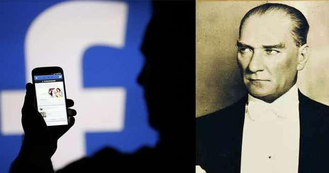Facebook'tan Atatürk kararı