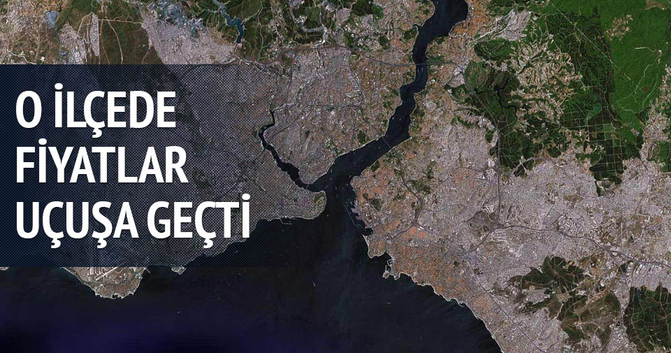 Arnavutköy'de arsa fiyatları uçuşa geçti