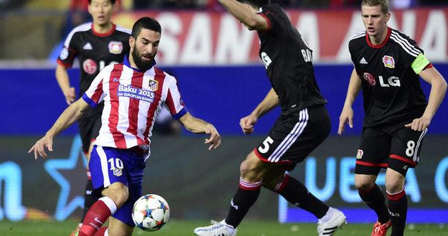 Atletico Madrid – Bayer Leverkusen özeti ve golleri (Geniş-özet)