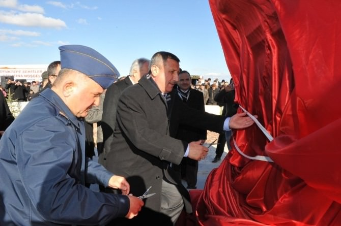 Şehitlik Anıtı Törenle Açıldı