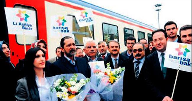 Barış Treni Sivas'ta