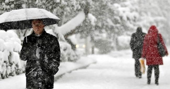 Meteoroloji'den son dakika kar uyarısı