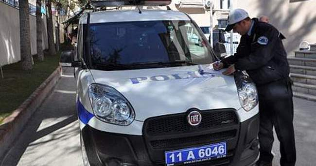 Polis memurlarına trafik cezası