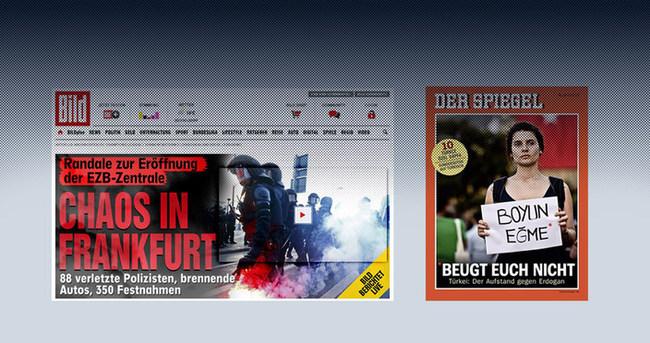 Alman medyasının ikiyüzlülüğü