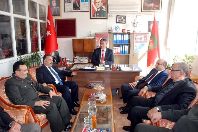 Vali Mahmut Demirtaş'tan Tümşad'a Ziyaret