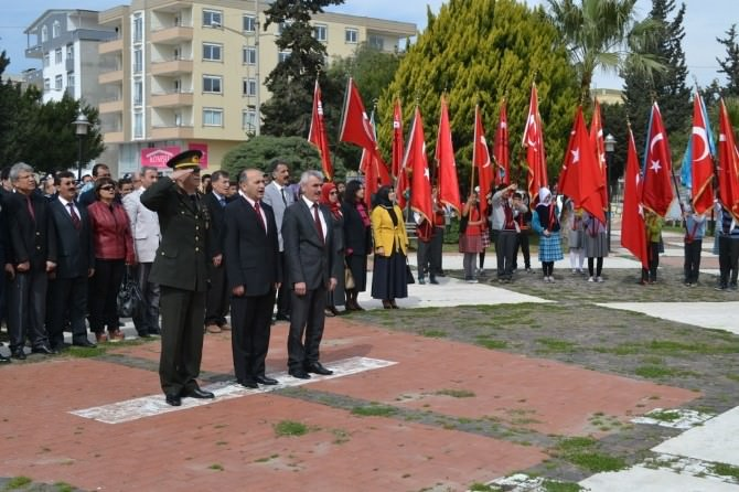 Bozyazı'da Çanakkale Zaferi Kutlandı