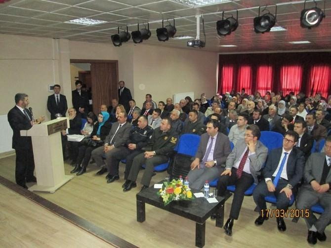 Küre'de Şehitler Günü Konferansı
