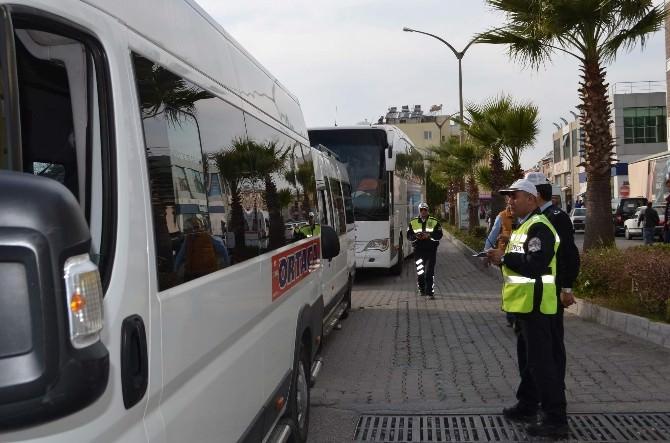 Ortaca'da Servis Araçlarına Sıkı Denetim