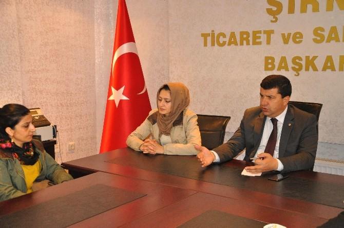 Şırnak'ta 30 Kişiye KOSGEB Girişimcilik Sertifikası Verildi