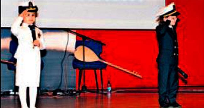 Deniz Harp Okulu'nda Çanakkale töreni