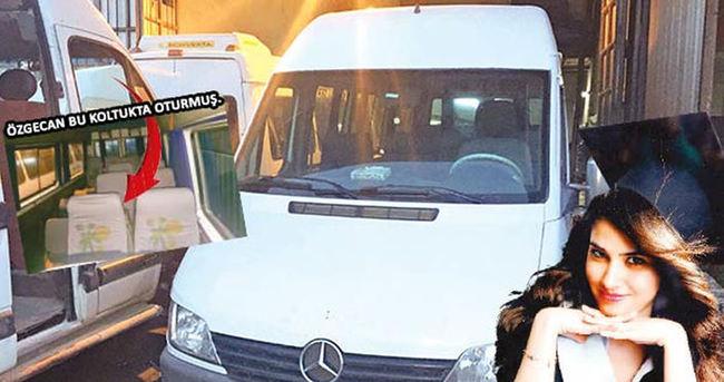Özgecan'ın katledildiği minibüs ortaya çıktı