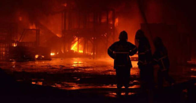 BTK İstanbul Bölge Müdürlüğünün deposu yandı
