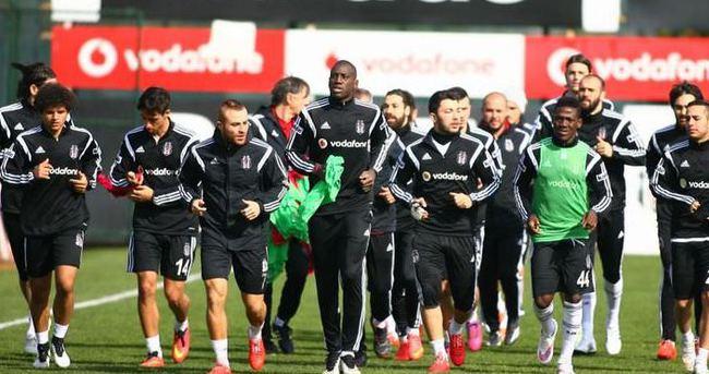 Beşiktaş, ter idmanı yaptı