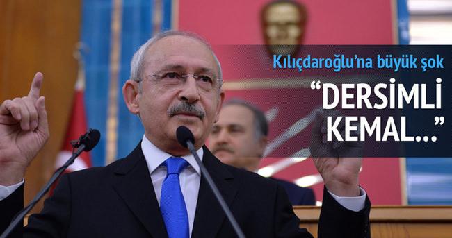Kemal Kılıçdaroğlu'na Dersim tepkisi