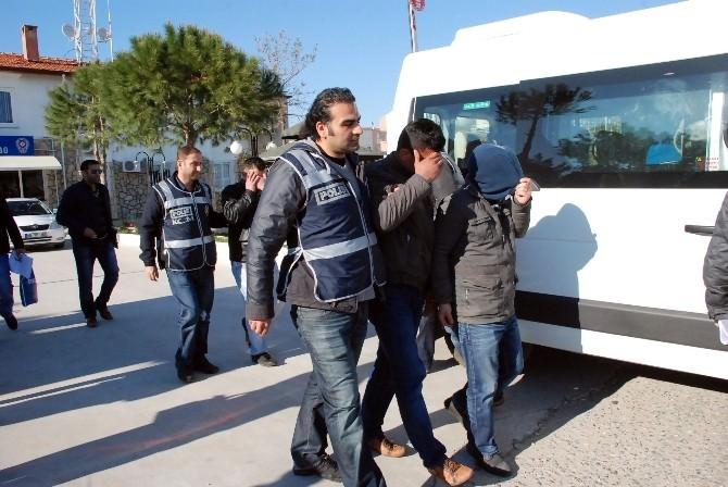Didim'de Hırsızlık Ve İnsan Kaçakçılığı Operasyonu: 7 Tutuklama