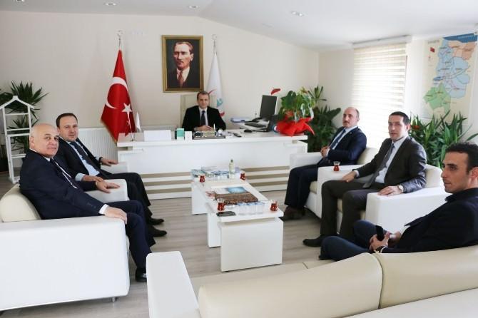 Başkan Kılıç, Khb Genel Sekreteri'ni Ziyaret Etti