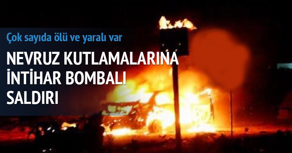 NEVRUZ KUTLAMALARINA İNTİHAR BOMBALI SALDIRI!