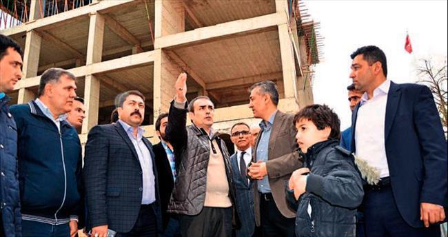 AK Partili Mahir Ünal kamu yatırımlarını yerinde inceledi