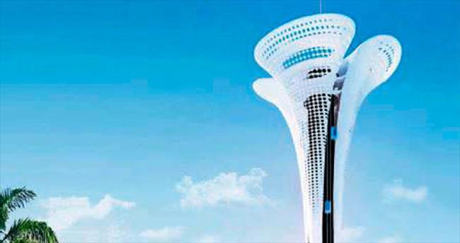 EXPO-2016 kulesi 2,7 metre uzatıldı