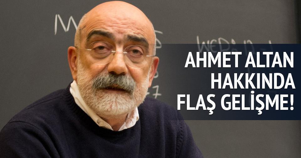 Ahmet Altan mahkemeye çağrıldı
