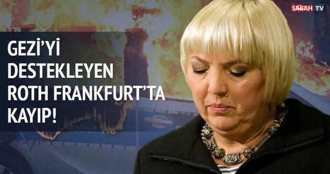 Gezi'yi destekleyen Roth Frankfurt'ta kayıp