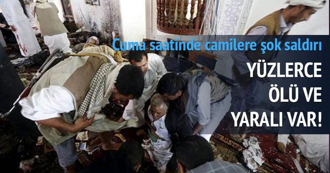 Camiye intihar saldırısı: En az 137 ölü