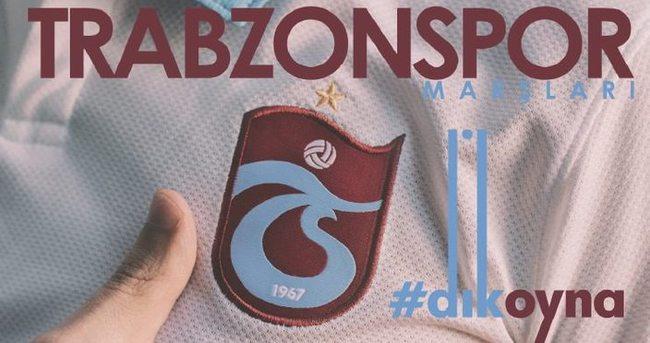 Trabzonspor'un Dik Oyna marşı çıktı!