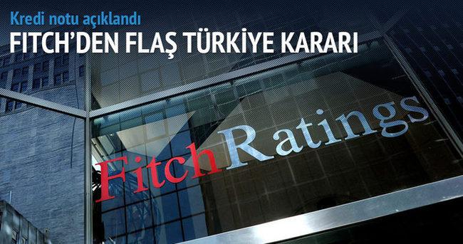 Fitch'ten kritik Türkiye kararı