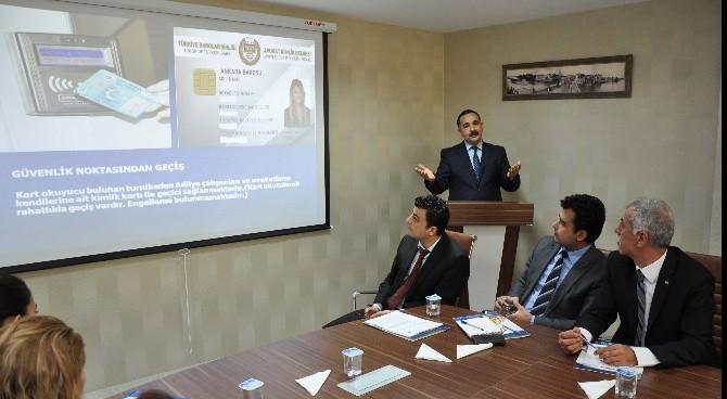 Adana Adliyesi'ne Ön Büro Ve Danışma Masası