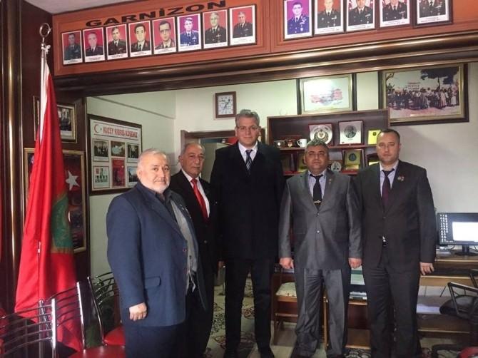 Aday Adayı Ulusoy'dan Başkan Bülent Çakır'a Ziyaret