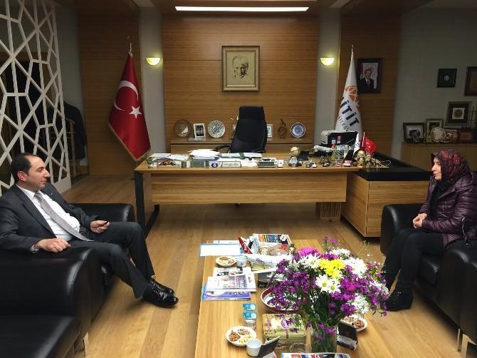 Çöpür'den Rektör Alkan'a Ziyaret