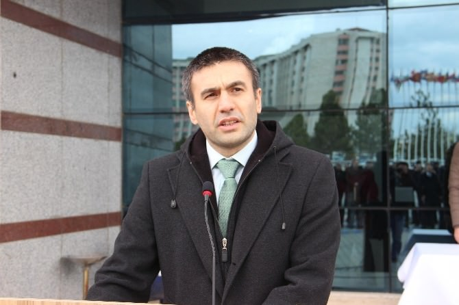 Nevruz Ateşi Edirne'de Yandı