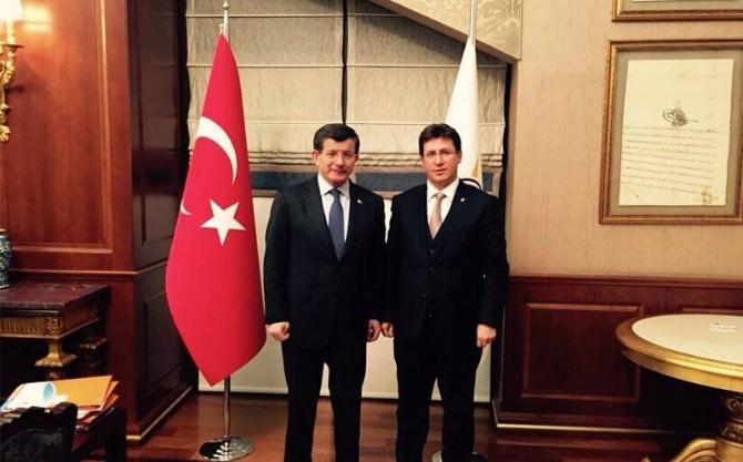 Başkan Kobal, Başbakan Davutoğlu İle Görüştü