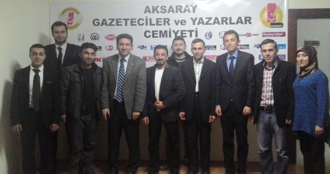 Crossfit Federasyonu'ndan Gazeteciler Cemiyetine Ziyaret