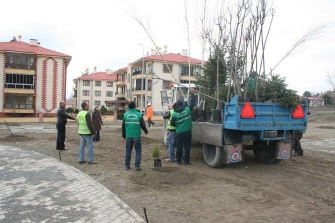 Erzincan Belediyesinden Yeni Parklara Devam