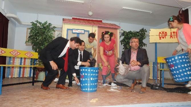 TSO'dan Sarıcakaya'da 'Önce Kalite' Tiyatro? Oyunu