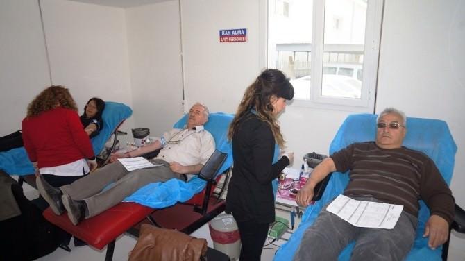 Sarıgöl'de Kan Bağış Kampanyası