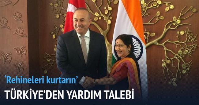 Türkiye'den yardım talep etti