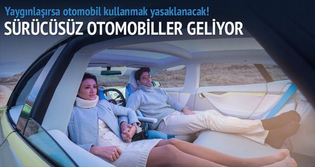 Gelecekte otomobil kullanmak yasak!