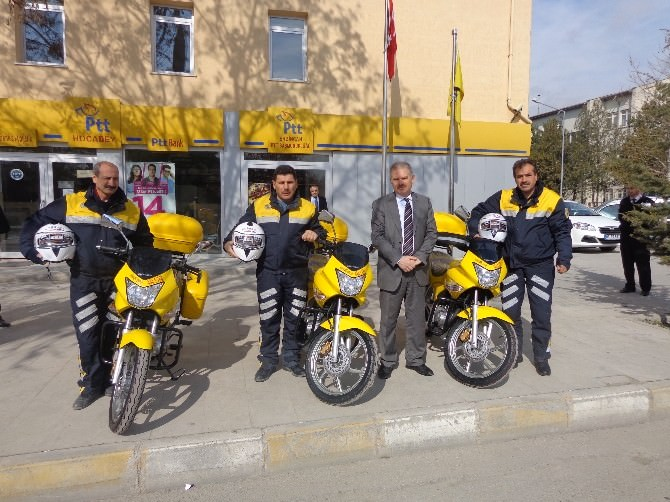 Erzincan PTT'ye 13 Yeni Motor