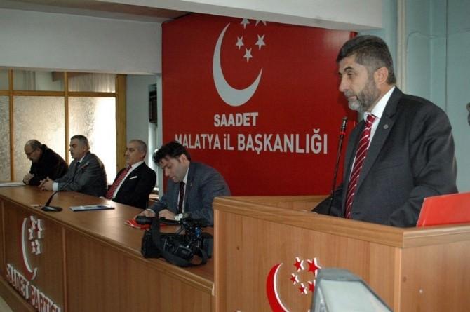 Saadet Partisi Mart Ayı İl Divan Toplantısı Yapıldı