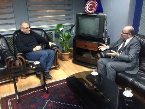 AK Parti Trabzon Milletvekili Aday Adayı Mesut İskenderoğlu, KTÜ Rektörü Baykal'ı Ziyaret Etti